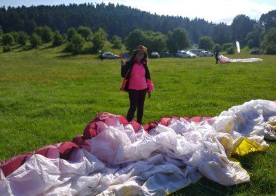 Kamp ve yamaçparaşütü uçuşu (12)