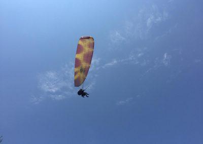Kamp ve yamaçparaşütü uçuşu (21)